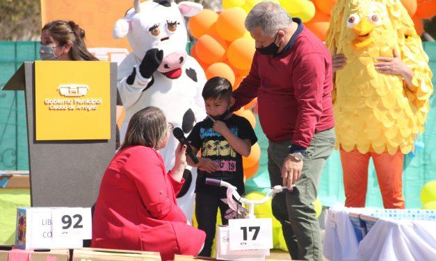 Arroyito celebró el mes de las infancias