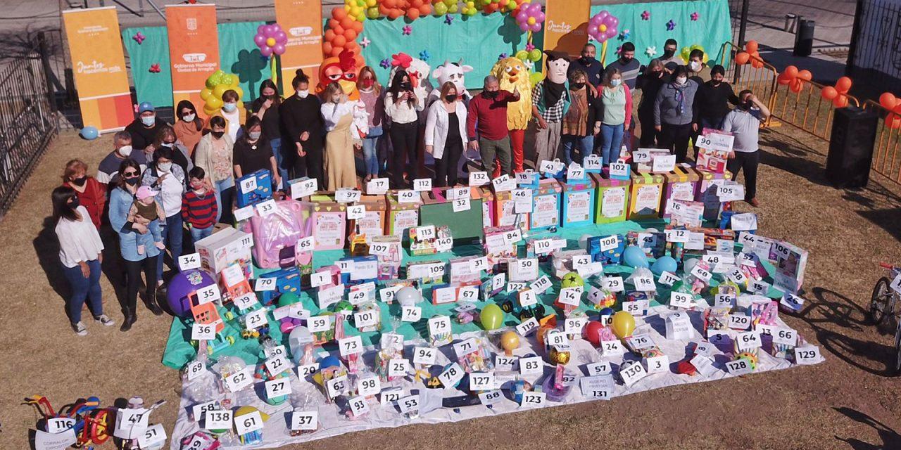 Lista de ganadores del sorteo por el mes de las infancias