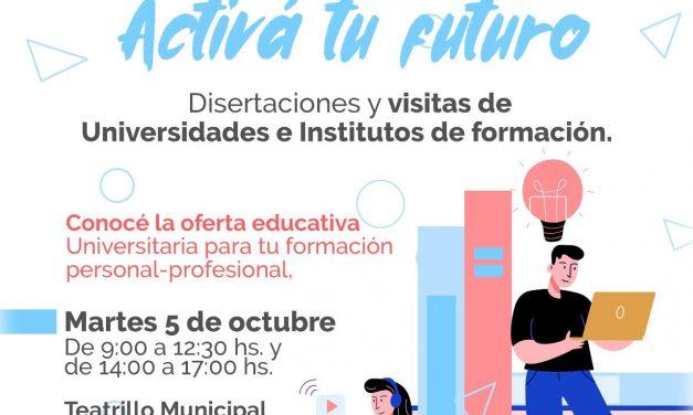Jornada joven: Activá tu futuro