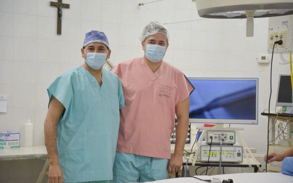 El Hospital de Arroyito realizó la primera cirugía mediante Video-laparoscopia, con un exitoso resultado