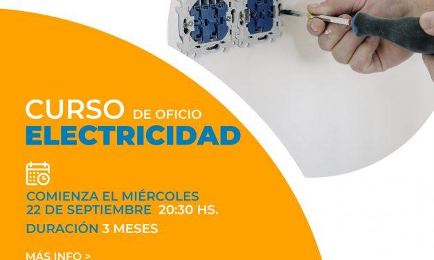 Electricidad: Nuevo curso de la Universidad Popular Arroyito