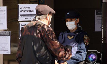 El Municipio de Arroyito sugiere y/o recomienda el uso del Barbijo como medio de cuidado social