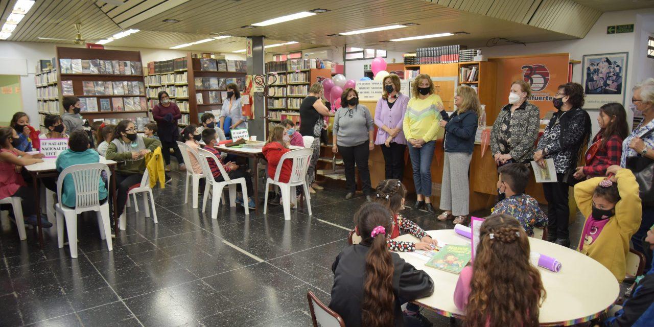 Se llevó a cabo la 19° maratón nacional de lectura en la Biblioteca Municipal de Arroyito