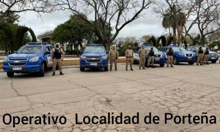 Operativo saturación – Patrulla Rural Norte San Justo