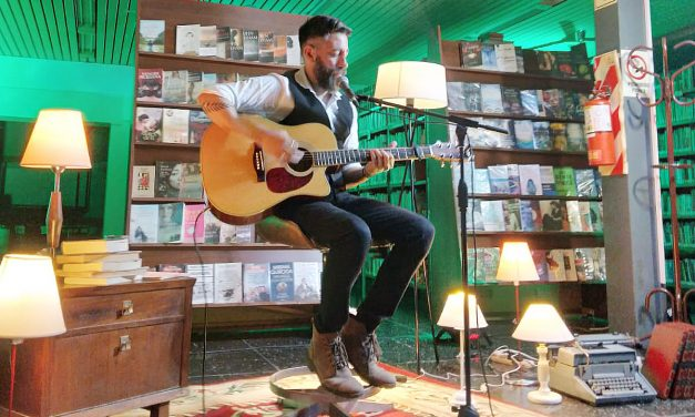 Primer show streaming del ciclo musical sesiones  live en la Biblioteca Municipal