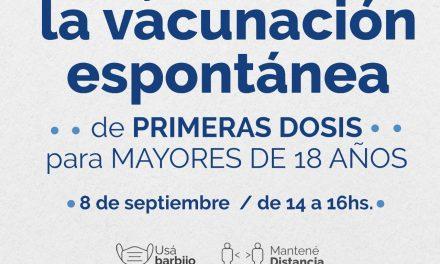 Arroyito activa la vacunación por demanda espontánea