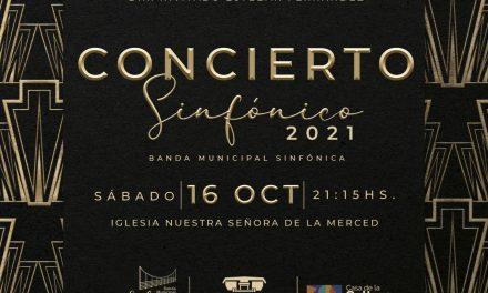 Nuestra Banda Sinfónica vuelve a presentarse en el concierto sinfónico 2021