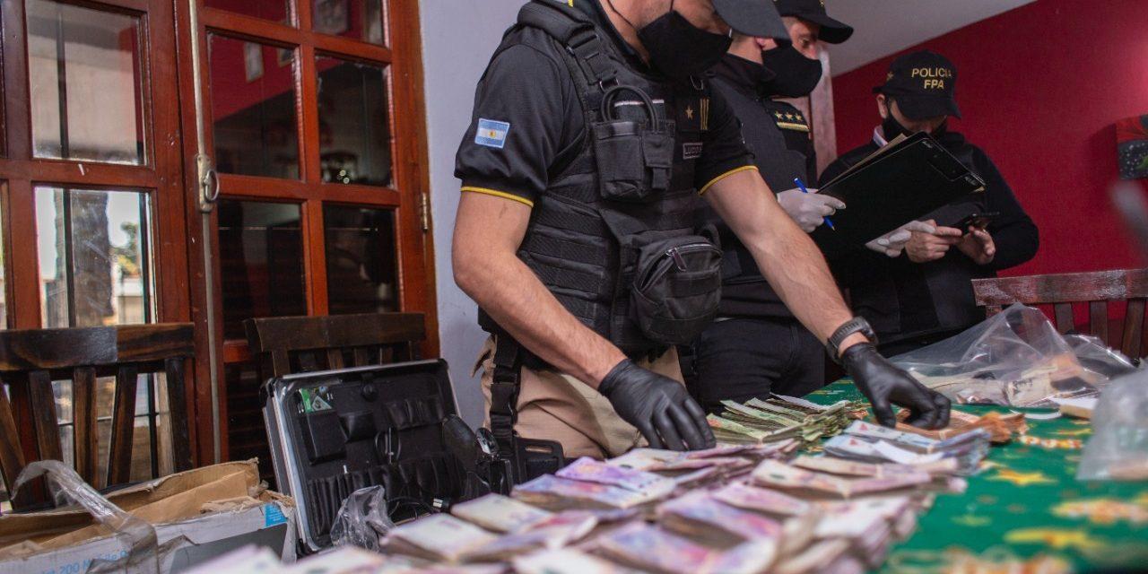Desarticulan banda que vendía cocaína, marihuana y psicofármacos en barrio Quintas de San Jorge