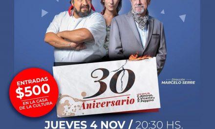 Nueva obra de teatro en Arroyito: 30 Aniversario