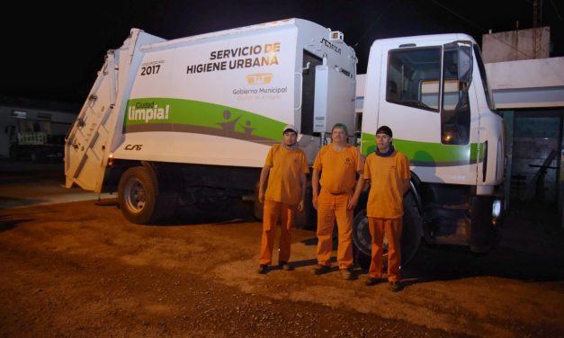 Feliz Día del Recolector de Residuos al equipo de Servicios Públicos de la Ciudad