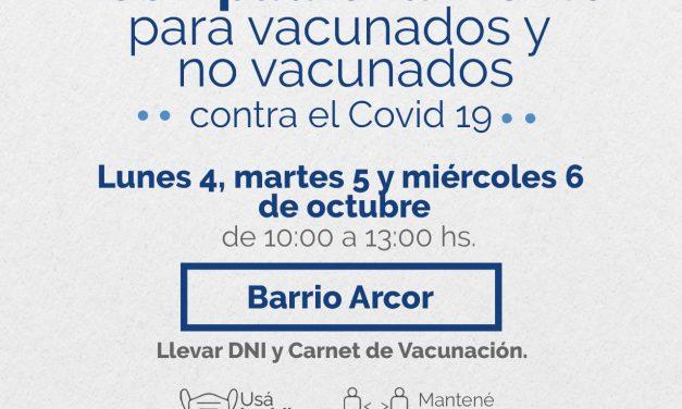 El CEA comienza los operativos de reempadronamiento para vacunados o no vacunados contra el covid 19
