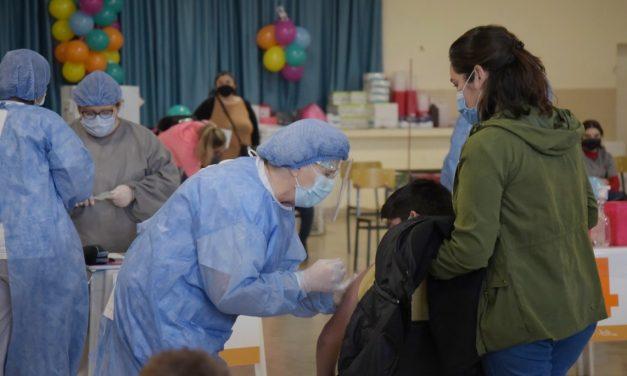 Avanza de manera favorable la vacunación dirigida a niños y adolescentes